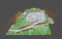 敷地のドローンで3Dできます。